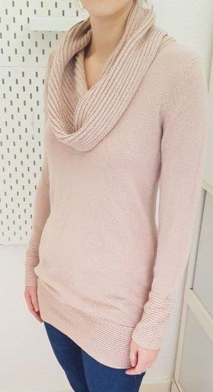 Sweater mit Wasserfall Kragen