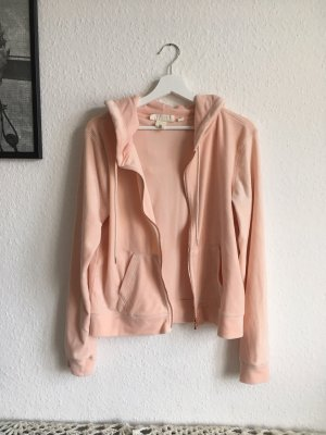 Sweater Pulli Kapuzenpulli rosa weich Gr M