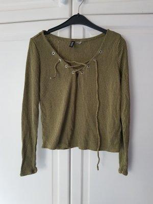 Sweater Sweatshirt H&M S 34 36 khaki