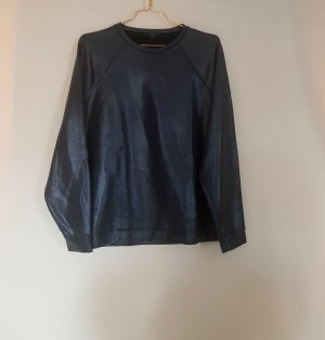Sweater von Cos gr. M leder Optik