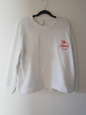 Sweater Weiß H&M Gr. L