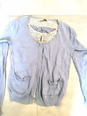Sweatshirt lichtblauw-babyblauw