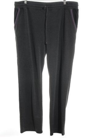 Pantalon de jogging gris anthracite style athlétique
