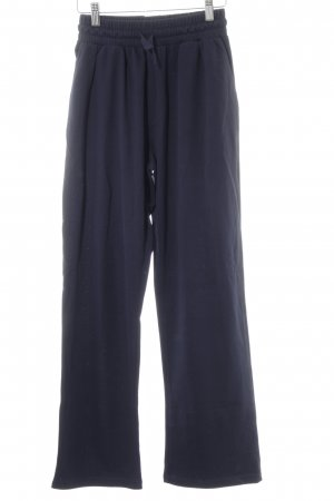 Pantalone fitness blu scuro stile casual