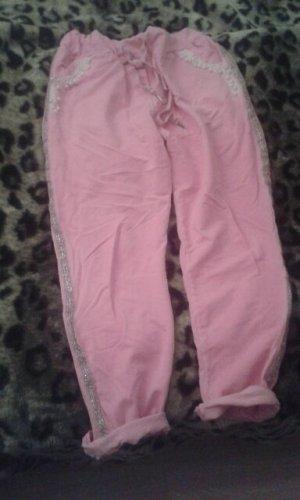 Pantalone fitness rosa