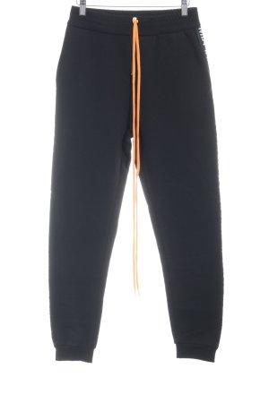 Pantalon de jogging lettrage imprimé style athlétique