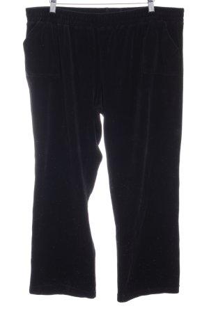 Pantalón deportivo negro look casual