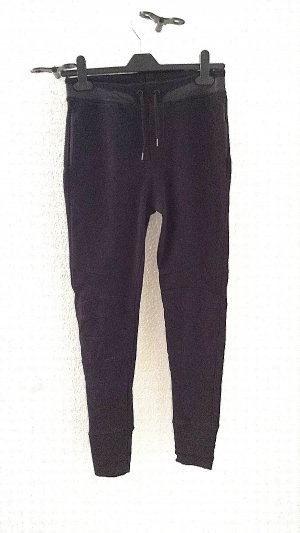 Zara Pantalon de jogging noir coton