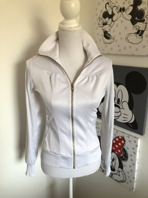 H&M M By Madonna Shirt Jacket white-gold-colored