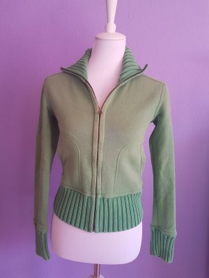 H&M L.O.G.G. Sweat Jacket lime-green-green