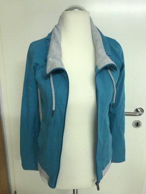 Bench Veste chemise gris clair-turquoise