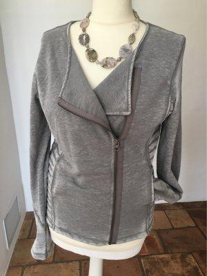 Esprit Veste chemise gris clair-gris