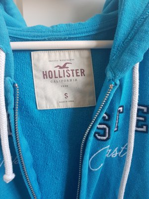 Hollister Giacca fitness blu