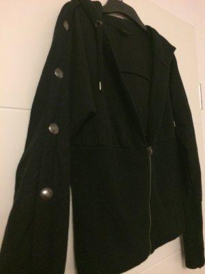 Sweat Jacket black polyester