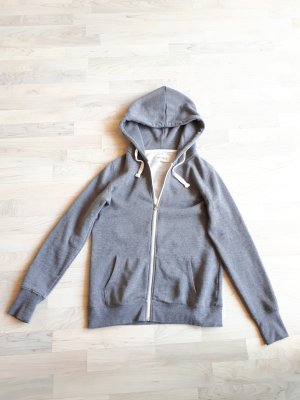 desires Veste sweat gris clair-gris