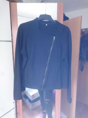 Sweatjacke im Bikerstil