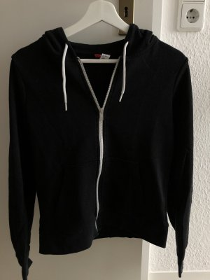 Hennes Collection by H&M Chaqueta con capucha negro-blanco