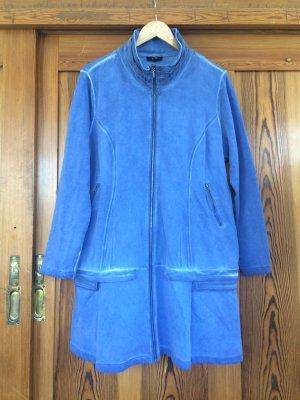 Yest Shirt Jacket cornflower blue cotton