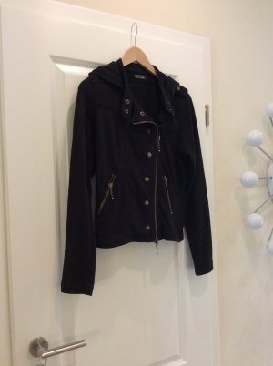 Sweatjacke Jacke schwarz