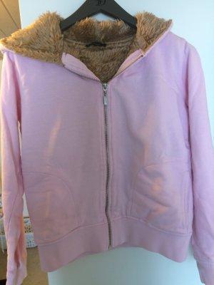 Sweatjacke mit Fell Marke: Conley's rosa/beige
