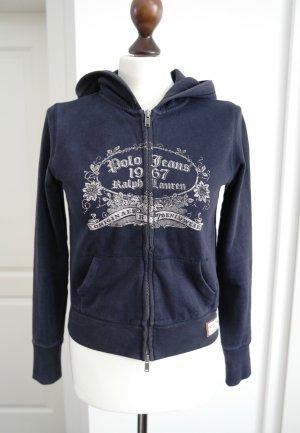 Sweatjacke mit Kapuze von Polo Jeans Ralph Lauren in blau