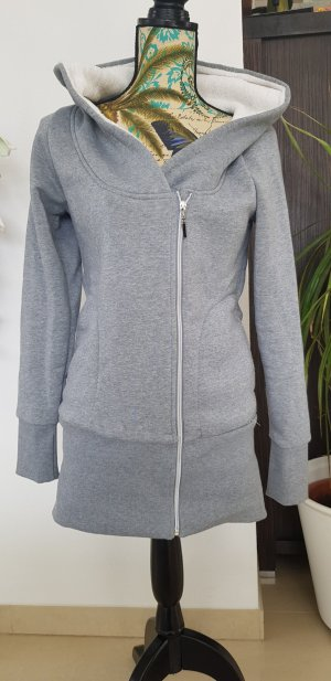 Madonna Sweat Jacket light grey-grey