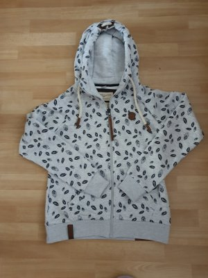 Naketano Sweat Jacket light grey