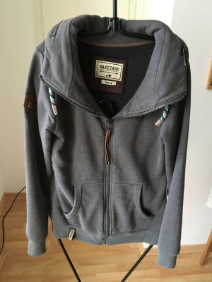 Sweatjacke Naketano in Grau