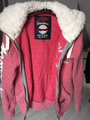 Sweatjacke pink Superdry