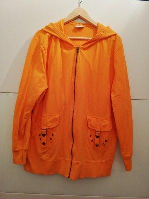 Oversized Jacket orange