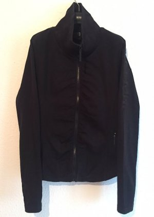 Bench Shirt Jacket black cotton