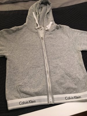 Calvin Klein Veste sweat gris clair