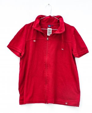 Cecil Sweat Jacket red cotton