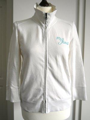 Sweatjacke von Polo Jeans Ralph Lauren in weiß Gr. M