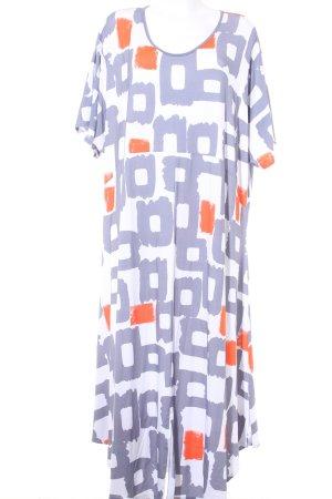 Vestido de tela de sudadera bloques de color estilo deportivo