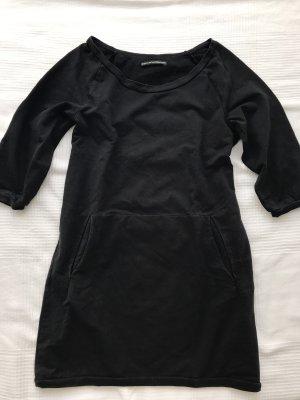 Drykorn Sweat Dress black cotton