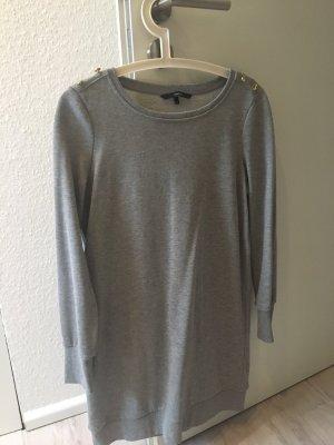 Sweatkleid in Grau