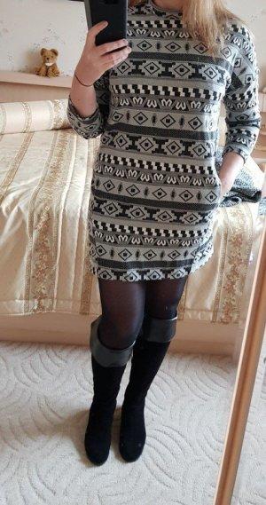 Sweatkleid Minikleid Oversize Only Gr. XS (fällt wie Gr. M aus) Kleid Neu