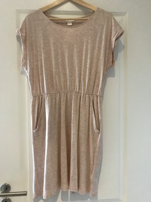 H&M Sweat Dress rose-gold-coloured