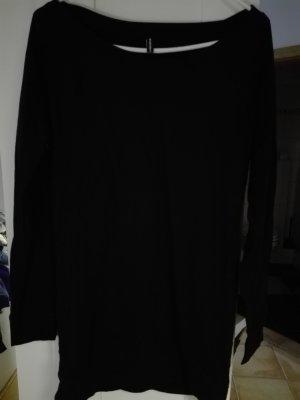Fishbone Vestido de tela de sudadera negro