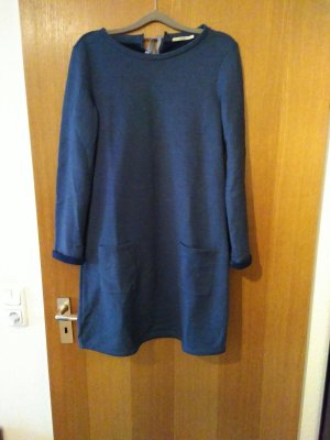 armedangels Sweat Dress steel blue cotton