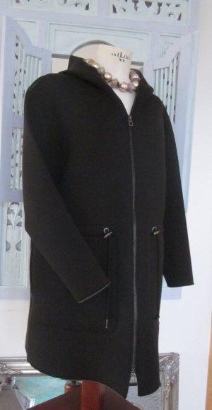 Marc O'Polo Hooded Coat grey-black mixture fibre