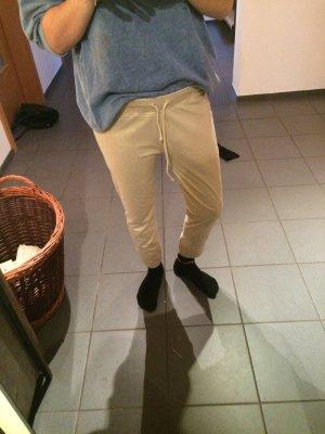 Sweatpants in Gold von einem italienischen Label