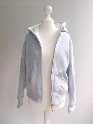 Sweatpullover mit kuschligem Fell, grau/beige