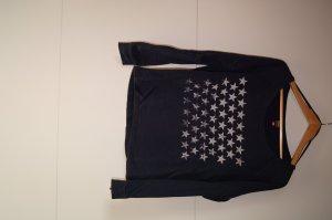 Sweatpullover, Pulli, Pullover, Sweater, lockerer, mit Sternenprint, mit Sternen