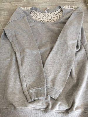FB Sister Sweat Shirt light grey-white