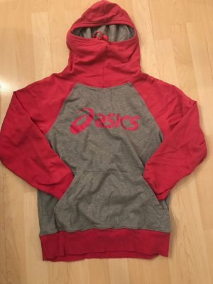Asics Sweatshirt argenté-rose