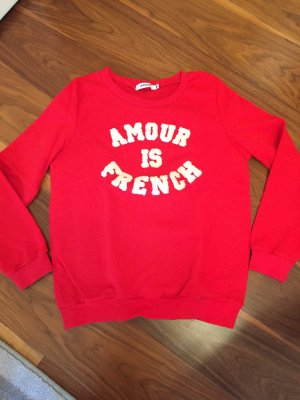 "Sweatshirt ""Amour is French"""