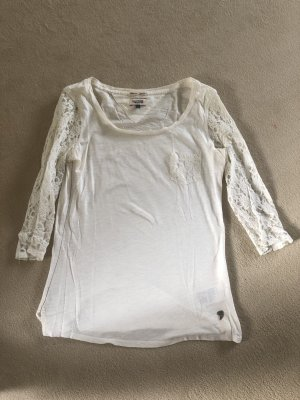Tommy Hilfiger Denim Sweatshirt blanc-blanc cassé