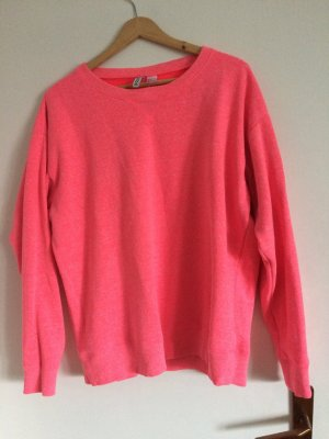Sweatshirt Basic In Pink